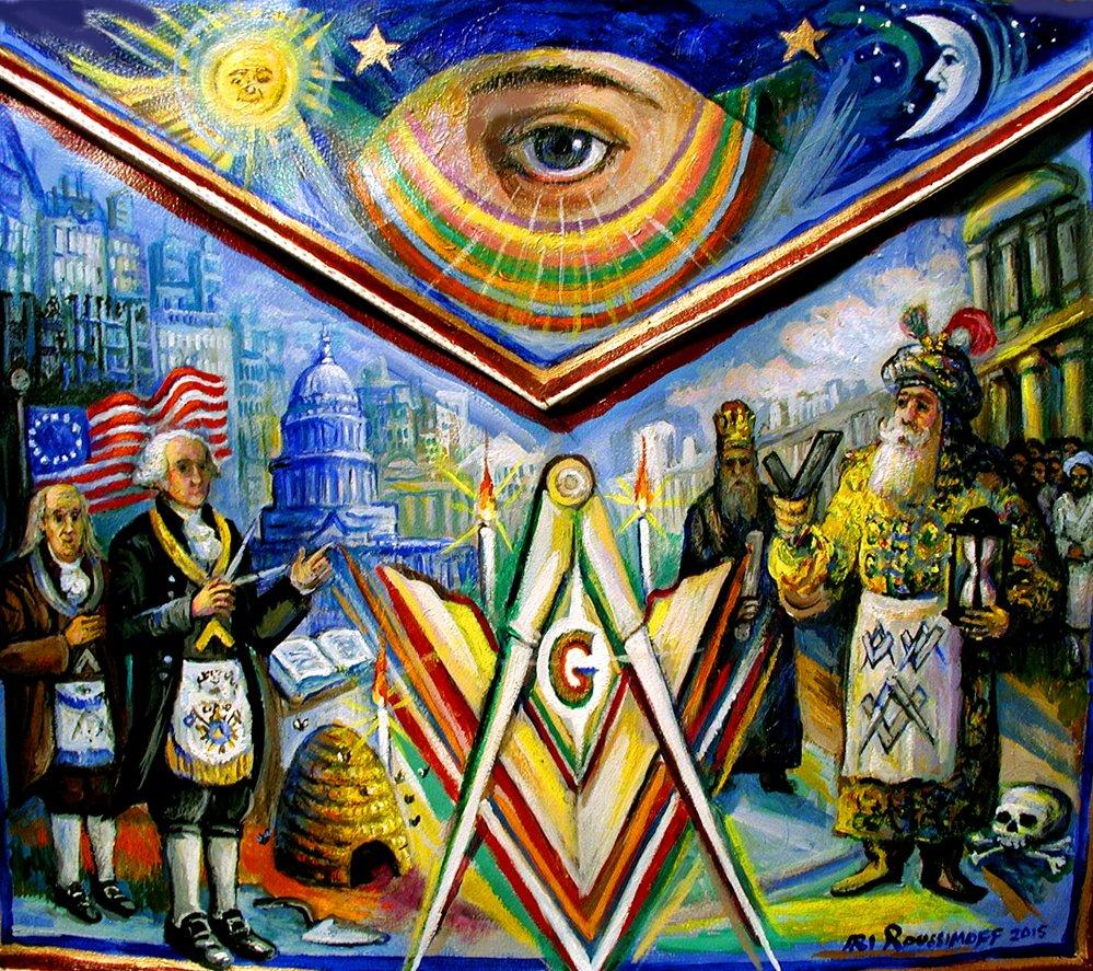 masonic paintings roussimoffcom