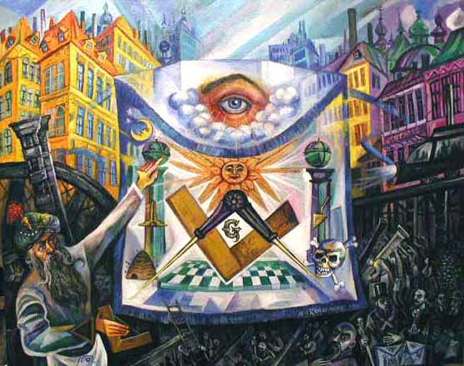 masonic paintings